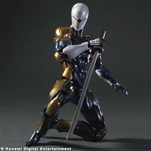 Square-Enix Metal Gear Solid Play Arts Kai Vol 5 figurine Cyborg Ninja 23 c
