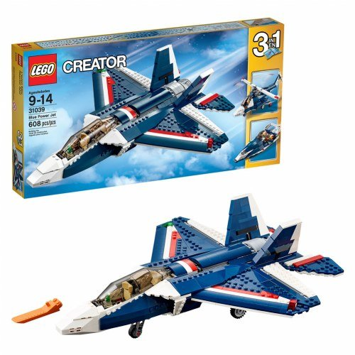 LEGO Creator 31039 Blue Power Jet Building Kit (Blue Power)