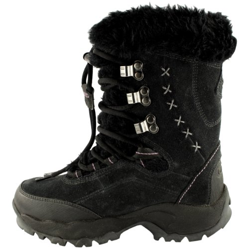 Tec II Winter Snow Hi Moritz Fur Faux Black Womens St 200 Boots Suede Calf Mid 5wBqvAX