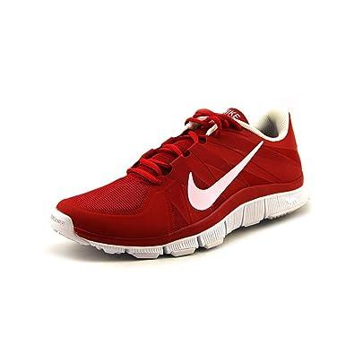 fd828236e3c88 ... purchase amazon nike mens free trainer 5.0 university red white 9 m us  fitness cross training