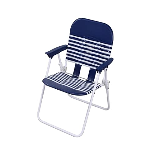 PATIO Chaise Lounge Chairs Clearance Sale For Kids, Outdoor And Indoor,  Blue PVC Folding