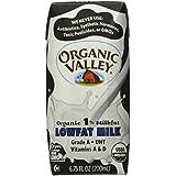 Organic Valley 1% Aseptic Milk, Single Serve - White - 6.75 oz. - 12 Pack