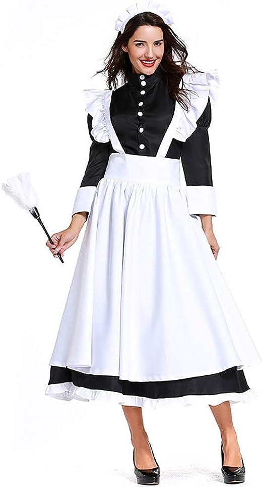 Evin Disfraz de sirvienta, Disfraz de sirvienta Alemana, Vestido ...