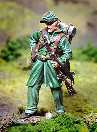 THE COLLECTORS SHOWCASE CIVIL WAR UNION CS00906 7TH MICHIGAN DISMOUNTED STANDING