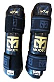 Mooto Taekwondo Forearm Protector WTF Approved TKD Guard Black & White XS to XL (Black, 4.L(5.58-6.17ft or 170-188cm))