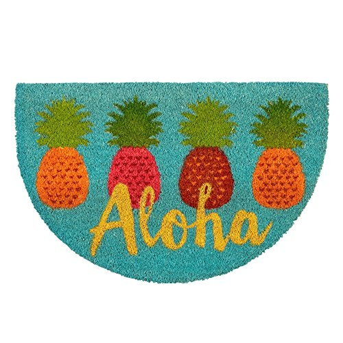 Aloha Door Mat (Aloha Pineapple Coir Doormat 18