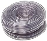Sealproof Unreinforced PVC Clear Vinyl Tubing, 3/8-Inch ID x 1/2-Inch OD, 100 FT