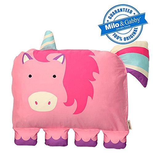 Milo & Gabby The Original Kids Animal Pillowcase, Emily The Unicorn by Milo & Gabby
