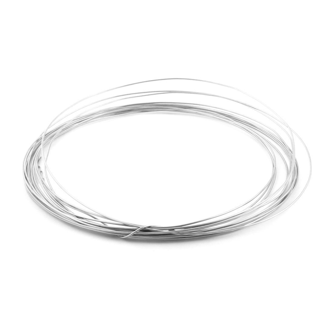 25Ft 1.2mm Dia AWG17 Nichrome Resistance Heating Coils Resistor Wire ...