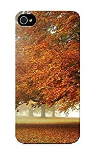 0848f112490 Case Cover, Fashionable Iphone 5/5s Case - Orange Leaves On The Tree