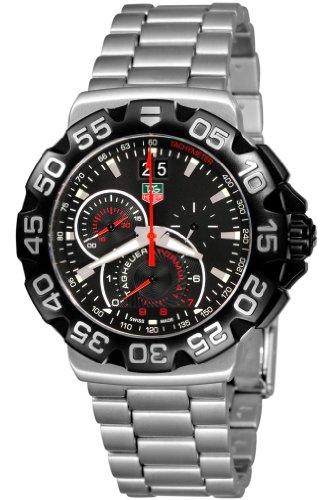 Price comparison product image TAG Heuer Men's CAH1010.BA0854 Formula 1 Grande Date Chronograph Watch