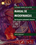 Manual de Microfinanzas : Una Perspectiva Institucional y Financiera, Ledgerwood, Joanna, 0821346776