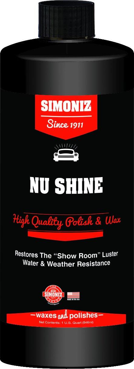 Simoniz s329400q Nu Shine車ポーランド、32オンス、1パック B072FG93BS