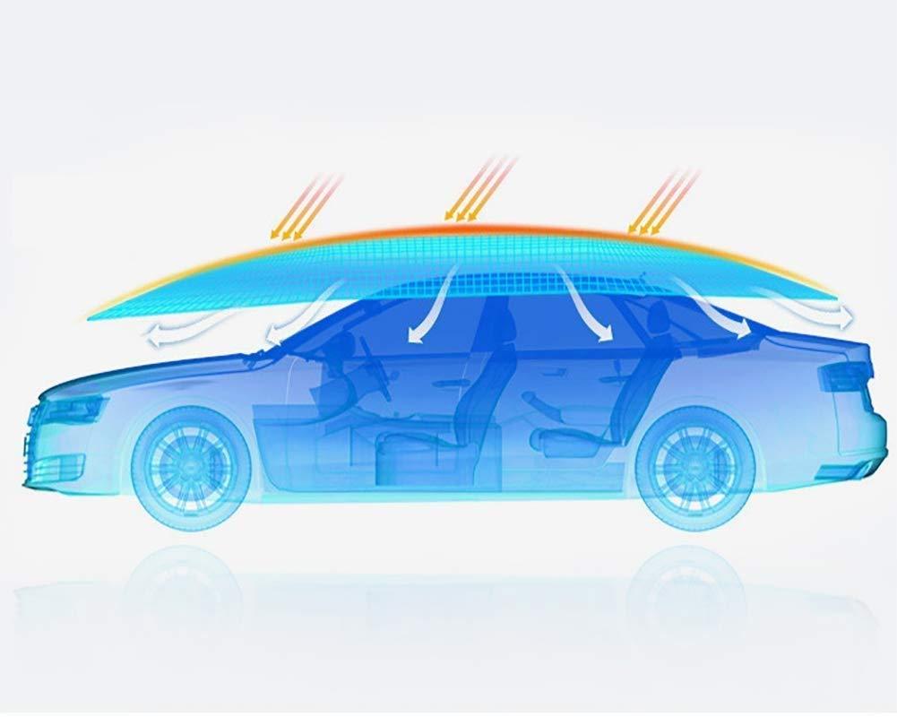 EGECL Sedan Car Cover - Waterproof Dust Sun UV Car Umbrella Sun Awning - Four-Season Car Awning Roof Cover - Universal - 210X400cm (Color : Camouflagecolor) by EGECL (Image #3)
