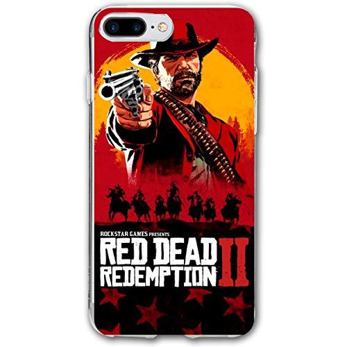 (iPhone 7/8 Plus Red Dead Redemption Dutch Van Der Linde Game Wallpaper Cases for)