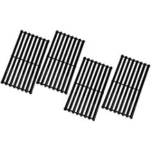 Zljoint Porcelain Steel Cooking Grid Replacement for Select Gas Grill Models by Broil-Mate, Huntington and Others, Set of 4