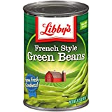 Seneca Libby French Style Green Beans, 26 Pound (Pack of 24)