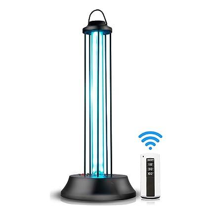KQJJD UV-Entkeimungs-Lampe keimtötende Lampe, Küchen-Haus-Kindergarten-Innenmobile sterilisierende Lampe 36W