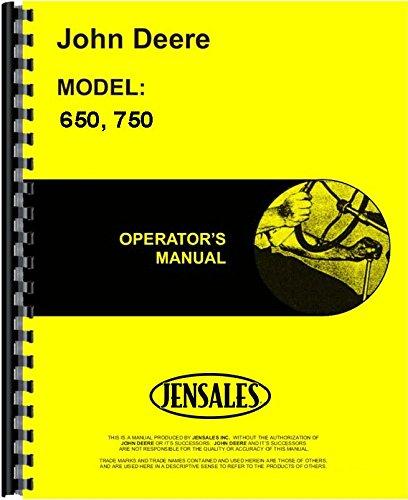 John Deere 650 750 Compact Tractor Operators Manual (JD-O-OMRW15455)