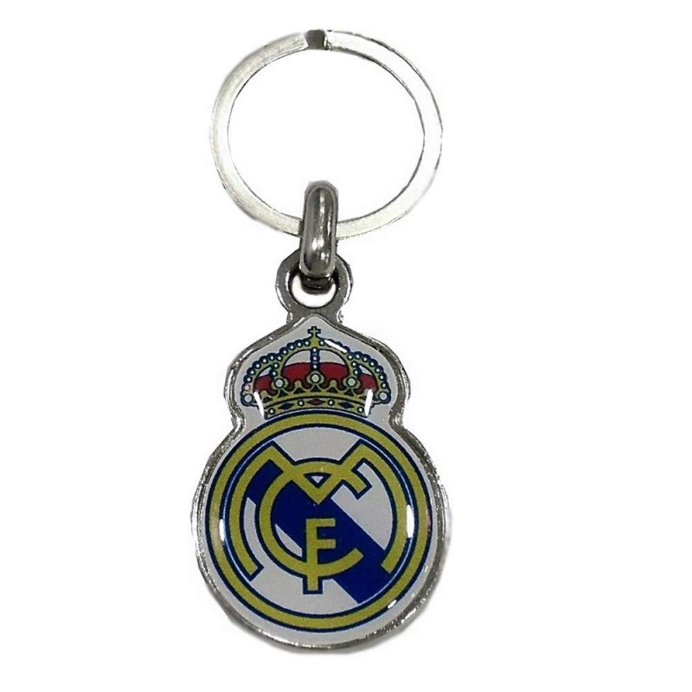 LLAVERO REAL MADRID ESCUDO: Amazon.es: Bebé