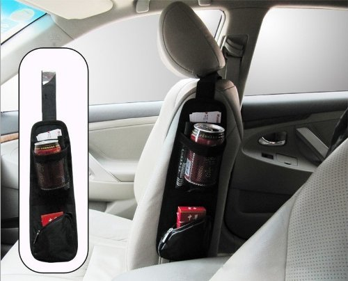 Waterproof Fabric Car Auto Vehicle Seat Side Back Storage Pocket Backseat Hanging Storage Bags