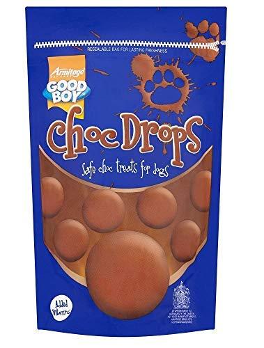 (ARM Dog Choc Drops 1000g Good Boy Chocolate Treat Buttons )