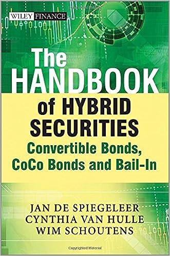 Amazon.com: The Handbook of Hybrid Securities: Convertible Bonds ...