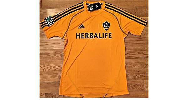 adidas L.A. Galaxy MLS formación Climacool Camiseta (S ...