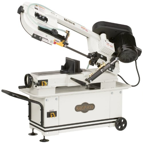 SHOP FOX M1014 7-Inch by 12-Inch Metal Bandsaw by Shop Fox