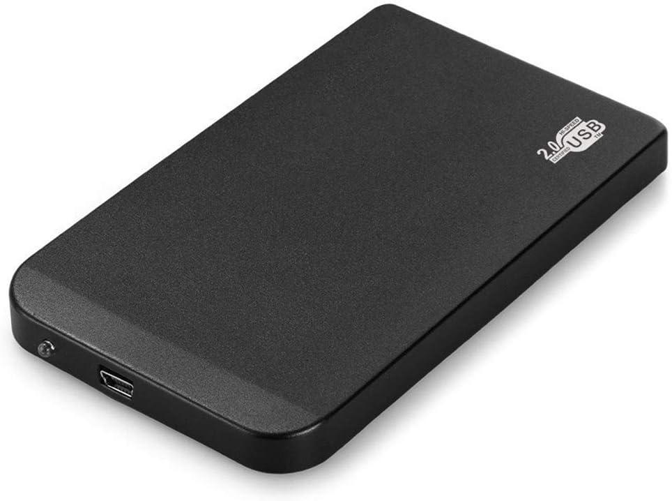 Negro Disco Duro Externo Carcasa 2,5 Pulgadas USB 2,0 IDE Portátil ...