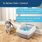 PetSafe ScoopFree Premium Crystal Non Clumping Cat Litter, 2-Pack 10