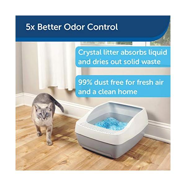 PetSafe ScoopFree Premium Crystal Non Clumping Cat Litter, 2-Pack 3