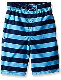 Boys' Troy Stripe Swim Trunk