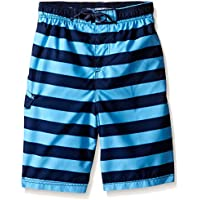 Kanu Surf Boys' Troy Stripe Swim Trunk