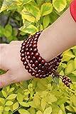 Generic India old material lobular beads bracelet 108 men 0.8 handmade high oil-tight beads mill