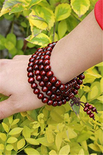 Generic India old material lobular beads bracelet 108 men 0.8 handmade high oil-tight beads mill by Generic (Image #3)