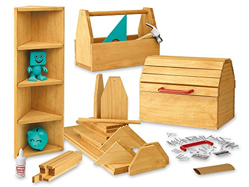 Wood Projects For Kids - Lakeshore Young Woodworker's Project Kit