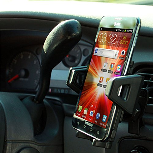 Amazon.com: USA Gear Air Vent Car Mount Phone Holder with 360 Degree Rotating and Adjustable Cradle ; Universal for Smartphones/GPS Devices - Perfect for ...