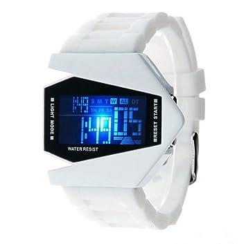 swall owuk Avión Modelo Relojes, LED de electrónicos Relojes