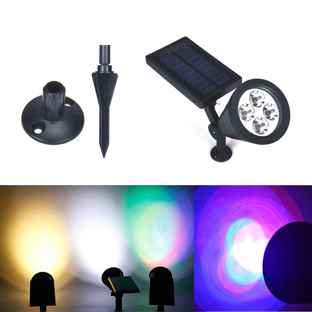 EASYmaxx Solar-LED-Partyleuchte Strahleneffekt Garten Lichtpunkte Akku Outdoor
