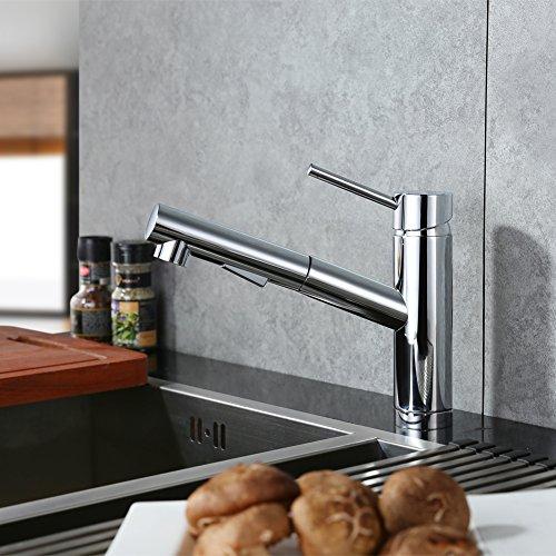 Chrome Kitchen Mixer Tap - 1