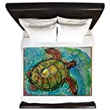 CafePress - Sea Turtle! Wildlife Art! - King Duvet Cover, Printed Comforter Cover, Unique Bedding, Microfiber
