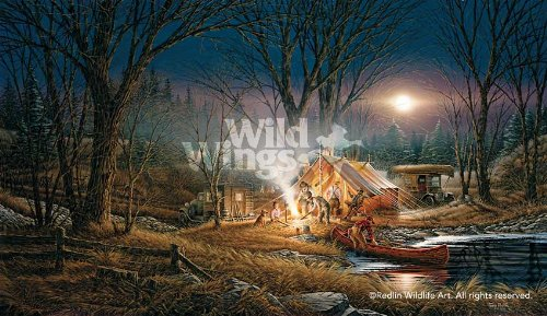 Wild Wings Campfire Tales by Terry Redlin Limited Edition Print of 29500 Signed & Numbered