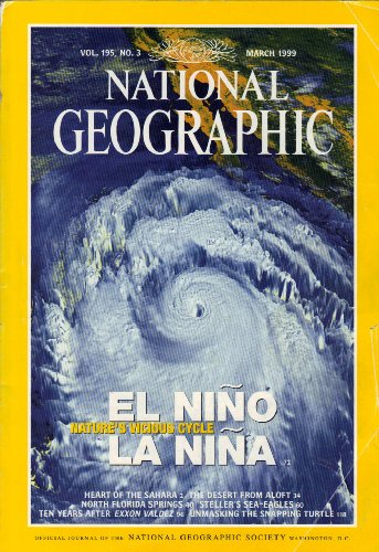 National Geographic Magazine, March 1999 (Vol. 195, No. 3)