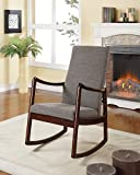Coaster 600196 Home Furnishings Rocking Chair, Cappuccino