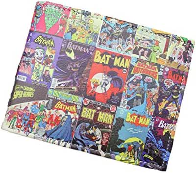 DC Comics (Batman) Comic Covers Bi-fold Men's/Boys Wallet with Gift Box