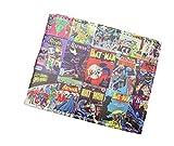 DC Comics Batman Comic Covers Leather Look Bi-fold Wallet (Gift Box Included)