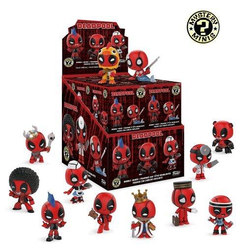 Deadpool Mini - Funko Marvel Deadpool Playtime Mystery Minis, Case of 12