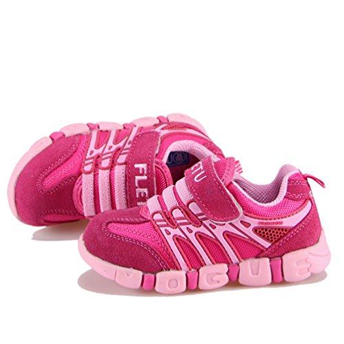 Unisex Zapatos deportivos Zapatos antideslizantes moda de los niños al aire libre casual Cuatro colores Rosa