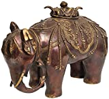 Elephant Incense Burner (Tibetan Buddhist) - Brass Statue